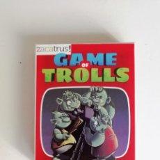 Juegos Antiguos: JUEGO DE CARTAS GAME OF TROLLS. Lote 175740135