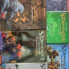 Juegos Antiguos: LOTE 5 LIBROS ROL STORMBRINGER (JOC INTERNACIONAL) - TAPA DURA. Lote 175874553