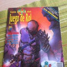 Juegos Antiguos: GUÍAS DEL JUEGO DE ROL 1992/93 ED ZINCO. Lote 176267720