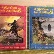 Juegos Antiguos: EL SEÑOR DE LOS ANILLOS. JUEGO DE AVENTURAS BÁSICO. PRIMERA EDICIÓN 1992. Lote 176268504