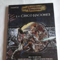Juegos Antiguos: LAS CINCO NACIONES DE EBERRON PARA DUNGEONS & DRAGONS. Lote 176541539