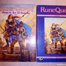 Juegos Antiguos: RUNEQUEST - AVANZADO + BÁSICO. Lote 176929137