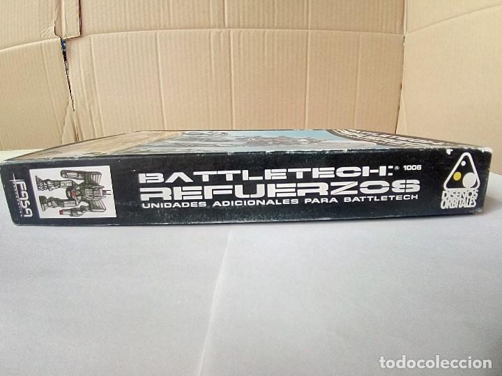 Juegos Antiguos: EXPANSION BATTLETECH REFUERZOS-VER FOTOS - Foto 3 - 177320977