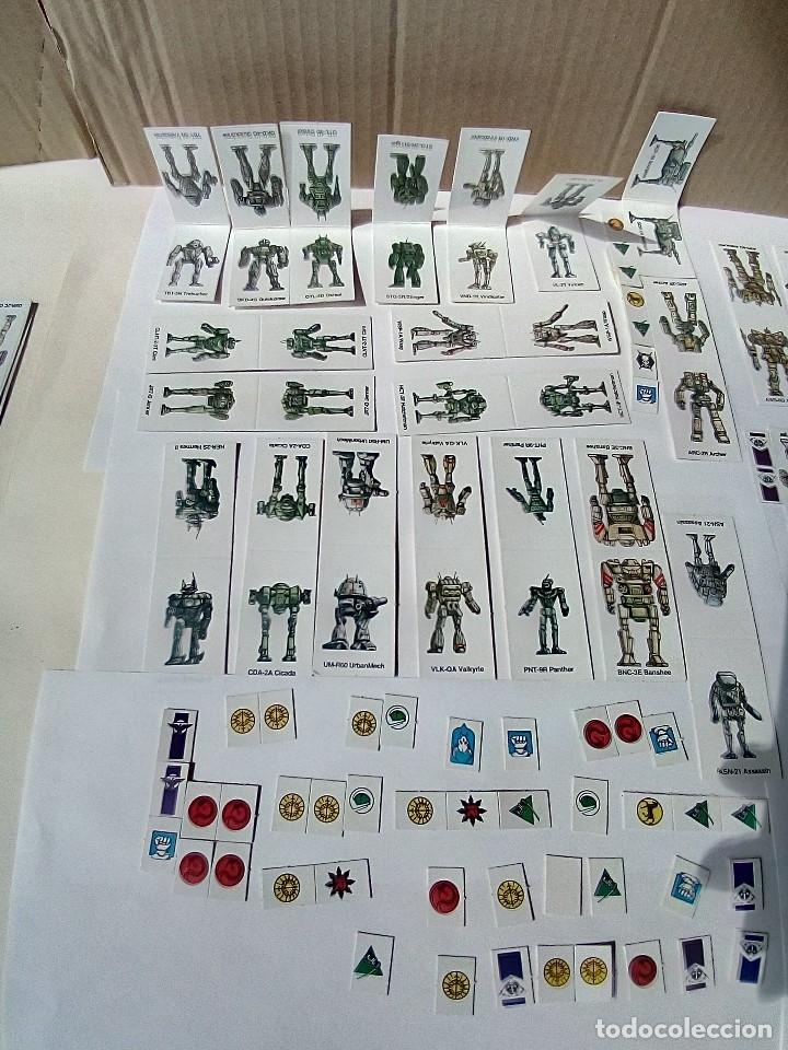 Juegos Antiguos: EXPANSION BATTLETECH REFUERZOS-VER FOTOS - Foto 9 - 177320977
