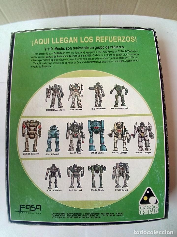 Juegos Antiguos: EXPANSION BATTLETECH REFUERZOS-VER FOTOS - Foto 15 - 177320977