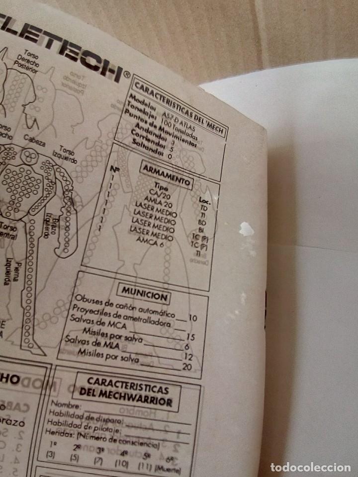 Juegos Antiguos: EXPANSION BATTLETECH REFUERZOS-VER FOTOS - Foto 24 - 177320977
