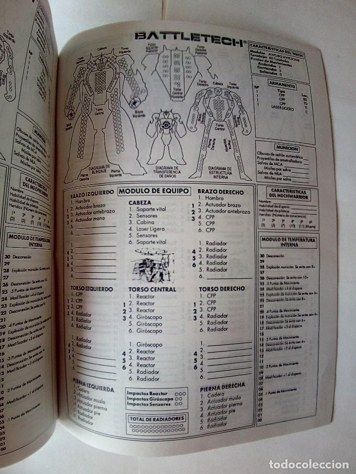 Juegos Antiguos: EXPANSION BATTLETECH REFUERZOS-VER FOTOS - Foto 25 - 177320977