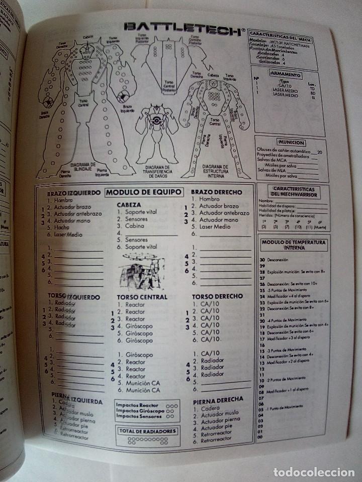 Juegos Antiguos: EXPANSION BATTLETECH REFUERZOS-VER FOTOS - Foto 28 - 177320977