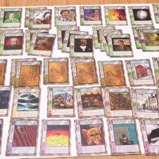 Juegos Antiguos: MYTHOS - MISKATONIC - 56 CARTAS - JOC INTERNACIONAL. Lote 177511419
