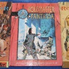 Juegos Antiguos: ROLEMASTER - ROLEMASTER FANTASIA - LA FACTORÍA DE IDEAS. Lote 55134359