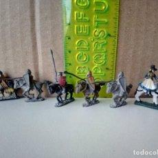 Juegos Antiguos: LOTE DE FIGURAS DE PLOMO-AÑOS 80-VER FOTOS. Lote 177748392