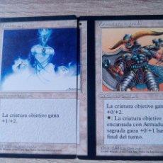 Juegos Antiguos: CARTAS MAGIC THE GATHERING MISPRINT MISCUT PRIMERA EDICIÓN BORDE NEGRO ESPAÑOL EXTREMADAMENTE RARO. Lote 178296391