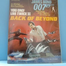 Juegos Antiguos: JAMES BOND 007 YOU ONLY LIVE TWICE II, BACK OF BEYOND, DE VICTORY GAMES,NUEVO SIN USO. Lote 178365288
