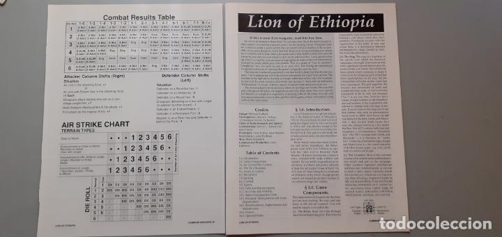 Juegos Antiguos: wargame command nº 4: lion of ethiopia - Foto 2 - 120916179