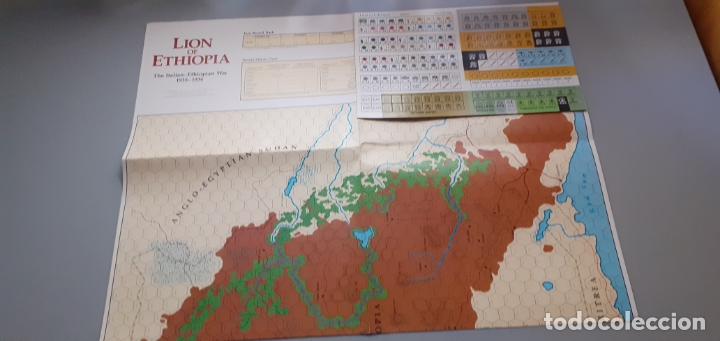 Juegos Antiguos: wargame command nº 4: lion of ethiopia - Foto 3 - 120916179