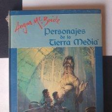 Juegos Antiguos: EL SEÑOR DE LOS ANILLOS- PRECINTADO- PERSONAJES DE LA TIERRA MEDIA ANGUS MC BRIDE J.R.R. TOLKIEN. Lote 178802733