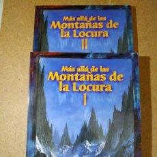 Juegos Antiguos: MÁS ALLÁ DE LAS MONTAÑAS DE LA LOCURA TOMOS I Y II, FACTORÍA DE IDEAS, LLAMADA DE CTHULHU. Lote 178824522