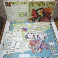 Juegos Antiguos: JUEGO DE MESA ESPAÑA 1936-1939 LA GUERRA CIVIL ESPAÑOLA WARGAME ESTRATEGIA DEVIR . Lote 179042996