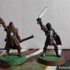 Juegos Antiguos: CAPITANES URUK HAI ISENGARD - WARHAMMER ESDLA LOTR - GAMES WORKSHOP. Lote 179141016