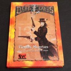 Juegos Antiguos: DEAD LANDS - TIERRAS MUERTAS - JOC INTERCACIONAL. Lote 179383725