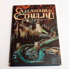 Juegos Antiguos: LA LLAAMDA DE CTHULHU - JOC INTERNACIONAL - 1ª ED. Lote 179384475