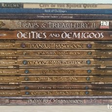 Juegos Antiguos: DUNGEONS AND DRAGONS - 3 Y 3.5 ED - IDIOMA INGLES - 13 TOMOS ROL.. Lote 179393291