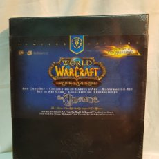 Juegos Antiguos: WORLD OF WARCRAFT - TRADING CARD GAME-THE ALLIANCE, LIMITED EDITION, PRECINTADO. Lote 180108386