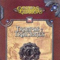 Juegos Antiguos: GESTAS Y GUARIDAS TRAMPAS Y TRAICIONES DE LA FACTORIA DE IDEAS.. Lote 180331945