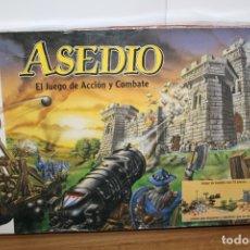 Juegos Antiguos: JUEGO DE MESA ASEDIO - EL JUEGO DE ACCIÓN Y COMBATE DE MB - AÑO 90. Lote 180492658