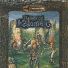 Juegos Antiguos: ROL REINOS DE KALAMAR INVASION DE ARUN KID - PRECINTADO A ESTRENAR. Lote 180910442