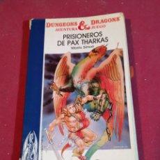 Juegos Antiguos: DUNGEONS & DRAGONS- NÚM. 1 PRISIONEROS DE PAX THARKAS - 1986. Lote 180937247