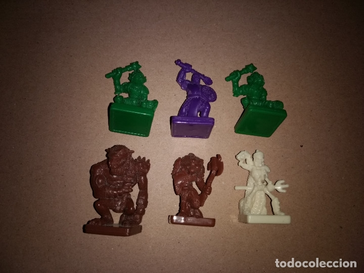 Juegos Antiguos: LOTE 6 FIGURAS DUNGEONS AND DRAGONS PARKER - Foto 1 - 180967352