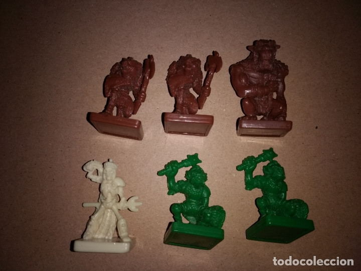 Juegos Antiguos: LOTE 6 FIGURAS DUNGEONS AND DRAGONS PARKER - Foto 1 - 180967558