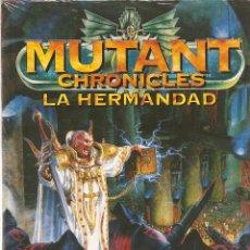Juegos Antiguos: MUTANT CHRONICLES LA HERMANDAD. LA LLAMA PURIFICADORA DEL CARDENAL - A ESTRENAR. Lote 181336626