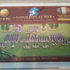Juegos Antiguos: NAPOLEON AT WAR - INFANTERÍA WARGAME OLD GUARD INFANTR. Lote 182222086