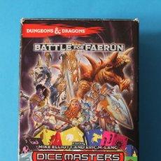 Juegos Antiguos: DUNGEONS & DRAGONS - DICE MASTERS - BATTLE FOR FAERUN. Lote 182287706