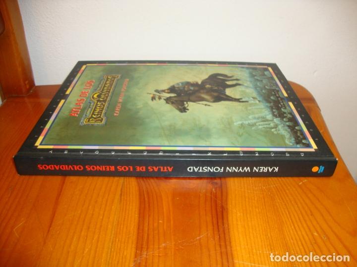 Juegos Antiguos: ATLAS DE LOS REINOS OLVIDADOS - KAREN WYNN FONSTAD - TIMUN MAS, EXCELENTE ESTADO - Foto 2 - 182310663
