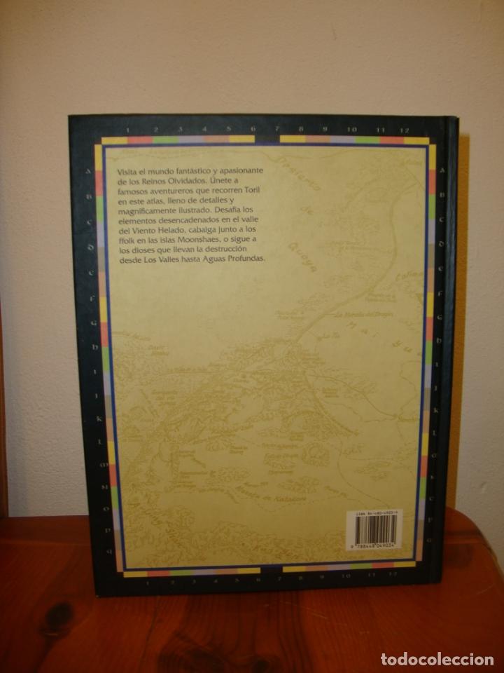 Juegos Antiguos: ATLAS DE LOS REINOS OLVIDADOS - KAREN WYNN FONSTAD - TIMUN MAS, EXCELENTE ESTADO - Foto 3 - 182310663