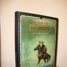 Juegos Antiguos: ATLAS DE LOS REINOS OLVIDADOS - KAREN WYNN FONSTAD - TIMUN MAS, EXCELENTE ESTADO. Lote 182310663