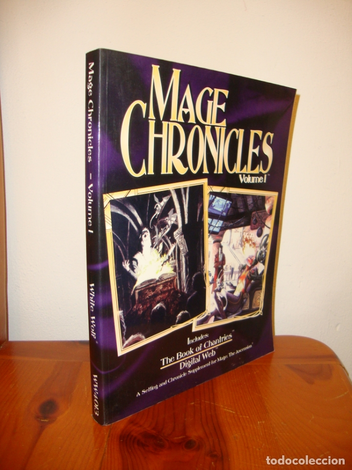 MAGE CHRONICLES. VOLUME I - A SETTING AND CHRONICLE SUPPLEMENT FOR MAGE: THE ASCENSION (Juguetes - Rol y Estrategia - Juegos de Rol)