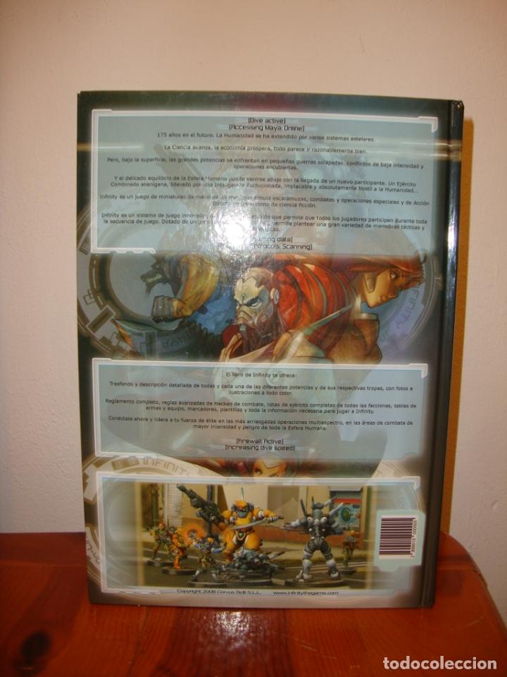 Juegos Antiguos: INFINITY - 2ª EDICIÓN REVISADA - CORVUS BELLI, JUEGO DE ROL, MUY BUEN ESTADO - Foto 3 - 182352260
