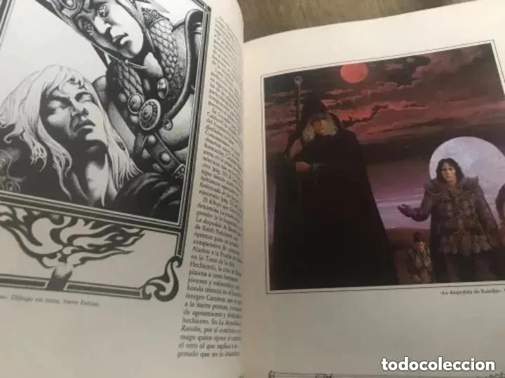 Juegos Antiguos: EL GRAN LIBRO DE LA DRAGON LANCE - Foto 6 - 182539306