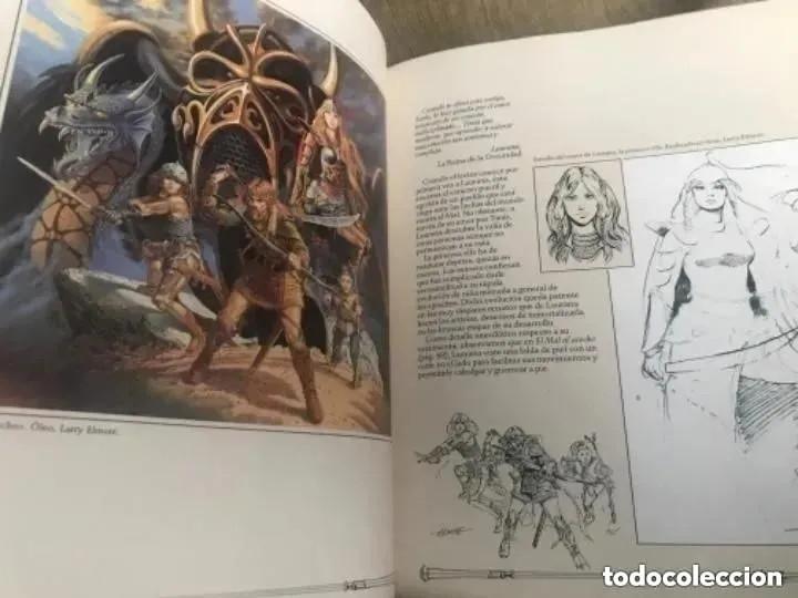 Juegos Antiguos: EL GRAN LIBRO DE LA DRAGON LANCE - Foto 7 - 182539306