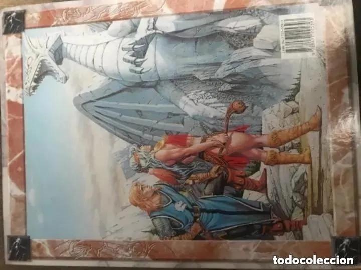 Juegos Antiguos: EL GRAN LIBRO DE LA DRAGON LANCE - Foto 8 - 182539306