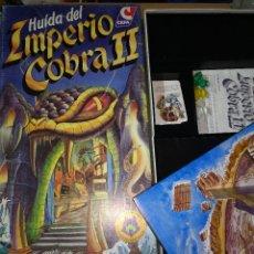 Jeux Anciens: JUEGO HUIDA DEL IMPERIO COBRA II COMPLETO CEFA AÑOS 80. Lote 182628515