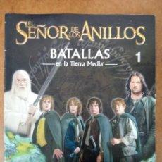 Juegos Antiguos: EL SEÑOR DE LOS ANILLOS BATALLAS EN LA TIERRA MEDIA LOTE NUMEROS 1 AL 19 - GAMES WORKSHOP - SUB02. Lote 182701872