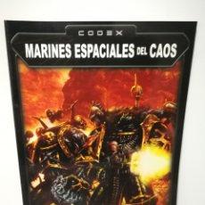 Juegos Antiguos: WARHAMMER MARINES ESPACIALES DEL CAOS CODEX. Lote 182981330