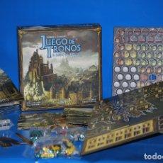 Juegos Antiguos: JUEGO DE MESA EDGE ENTERTAINMENT - JUEGO DE TRONOS EL JUEGO DE TABLERO - ESPAÑOL. Lote 183226953