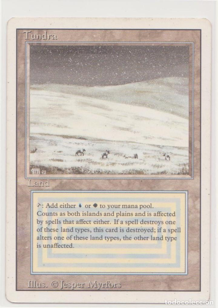 TUNDRA - REVISED (MAGIC THE GATHERING) (Juguetes - Rol y Estrategia - Juegos de Rol)