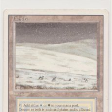 Juegos Antiguos: TUNDRA - REVISED (MAGIC THE GATHERING). Lote 183565306